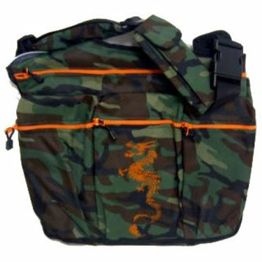Diaper Dude Camouflage Bag with Dragon