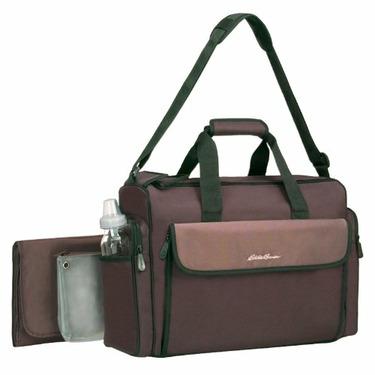 Eddie Bauer® Organizer Diaper Bag - Brown