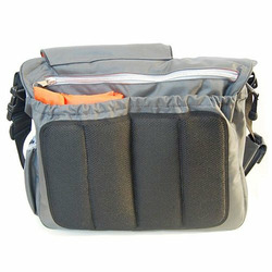 Diaper Dude Grey Messenger Bag