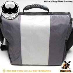 Stork Tools Daddy Diaper Bag - Several Color Choices, Slate & Silver