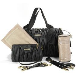 timi & leslie Camilla Diaper Bag, Black
