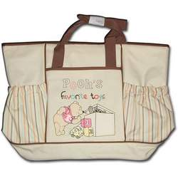 Pooh's Favorite Toys Large Messenger Diaper Bag