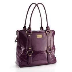 timi & leslie Jane Convertible Baby Bag - Eggplant