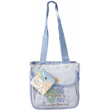 CARE BEARS BLUE COOLER BAG TOTE NEW BOYS DIAPER BAG INSULATED