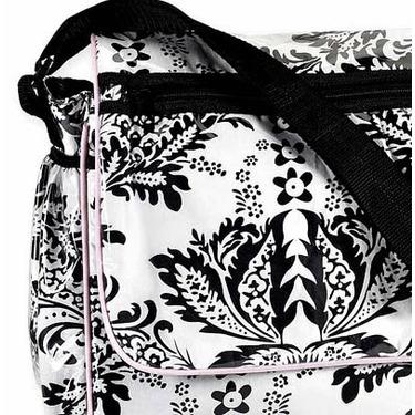 Sophia Damask Messenger Baby Diaper Bag