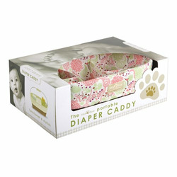 SaraBear Diaper Caddy - Pink Floral