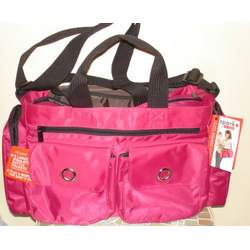 Spark Diaper Tote - Light Berry