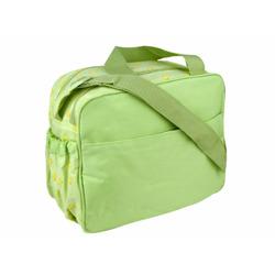 Baby Essential Duck Green Buttons Diaper Bag / Cooler