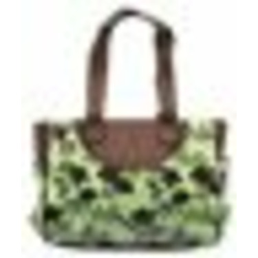 2-Piece Fashion Diaper Bag by Baby Essentials - sage, one size