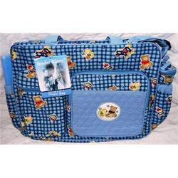 Tender Kisses Baby's 4-1 Large Diaper Bag
