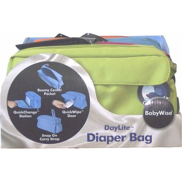 DayLite Quick Change Diaper Bag - Fuscia