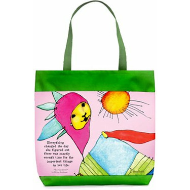 Enough Time StoryPeople Totebag
