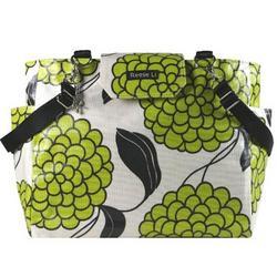 Green Tea Bloom Lexington Diaper Bag