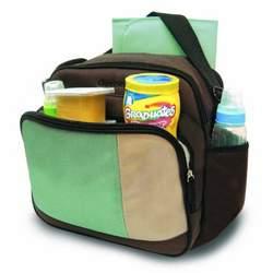 Gerber Colorblock Cooler Bag, Brown