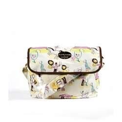 timi & leslie Le Petit Voyage Messenger Bag Baby - Circus