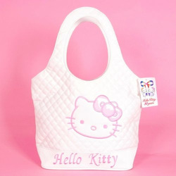 Hello Kitty Tote Bag Shopping Handbag Leatherette