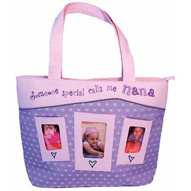 Camp Nana / Grandma Large Photo Tote Bag.