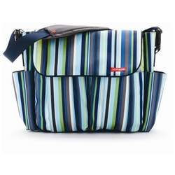Skip Hop Diaper Bag Ocean Stripe Dash Deluxe - SKH046