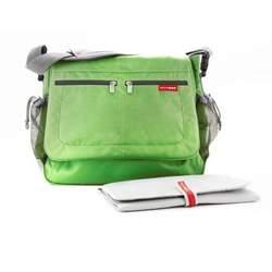 Skip Hop Diaper Bag Green Via Messenger - SKH054