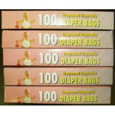 Fragranced Disposable Diaper Bags 500 pieces