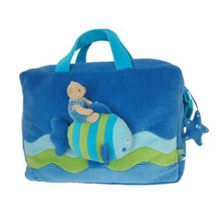 Kids Travel Bag, Sea Collection, Blue