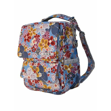 Ju Ju Be - PackaBe Diaper Bag in Blue Bouquet