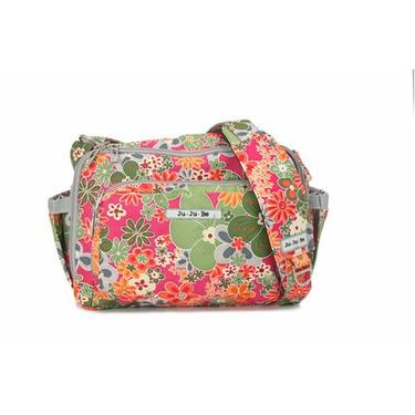 Ju Ju Be - BeTween Diaper Bag in Perky Perennials