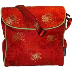 Kecci Shanghai Mommy Diaper Bag - Ruby