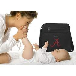 University of Alabama Logo College Logo Diaper Bag - Baby Bag - BEST Baby Shower GIFT for New Dad, Father or New Mom Mother GIFTS