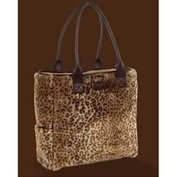 Bearington Baby - Luxe Leopard Diaper Bag