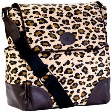 JP Lizzy Leopard Clara Shoulder Bag
