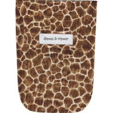 Diapees and Wipees Accessory Bag - Giraffe
