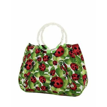 Ladybug Handbag Purse Tote Diaper Bag