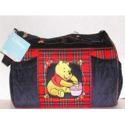 Disney Winnie the Pooh Baby Shower Corduroy Diaper Bag