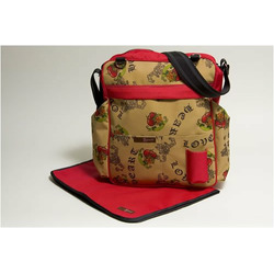 Urban Cool Diaper Bag in Hearts of Love