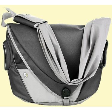 Go Gaga Messenger Bag Black Diaper Bag