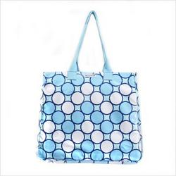 Rock the Tote Diaper Bag in Tag Blue