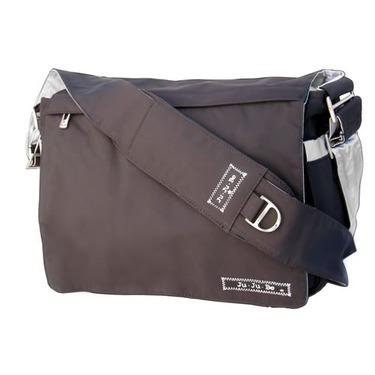 Ju Ju Be - Be All Diaper Bag in Black Silver