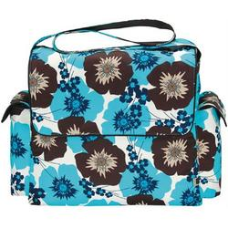 OiOi Messenger Diaper Bag - Pansy