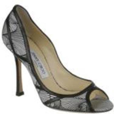 Jimmy Choo Hardy Printed Silk Satin Shoe