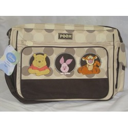 Disney Baby Large Diaper Bag Pooh Brown