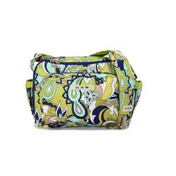 Ju Ju Be BeTween Lush Paisley Diaper Bag