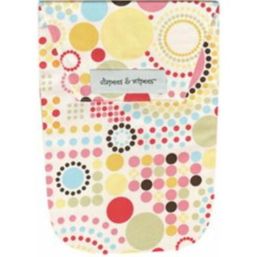 Diapees and Wipees Accessory Bag - Lite Brite