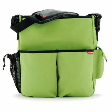 Skip Hop Duo Deluxe Edition Diaper Bag in Apple Green