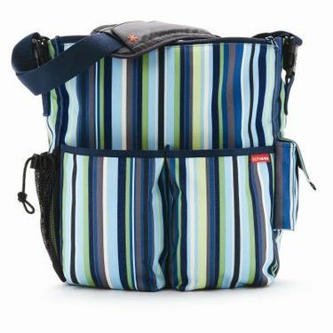 Skip Hop Diaper Bag Ocean Stripe Duo - SKH045