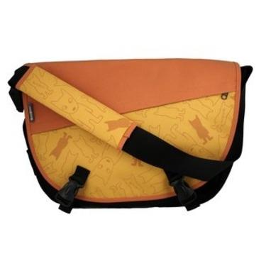 Tanger Dog Messenger Bag (Orange)