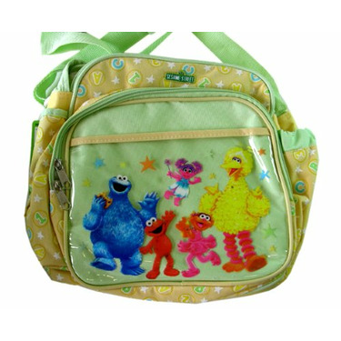 Sesame Street Baby Bag - Small Elmo and Friends Diaper and bottle Bag