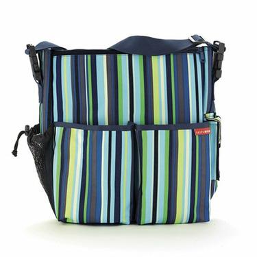 Duo Diaper Bag - Ocean Stripe