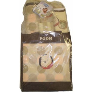 Winnie The Pooh Baby Tote Bag Gift 9 Piece Set