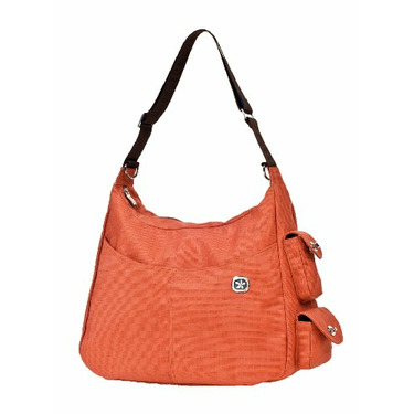 Re-Run Hanna Diaper Bag in Orange
